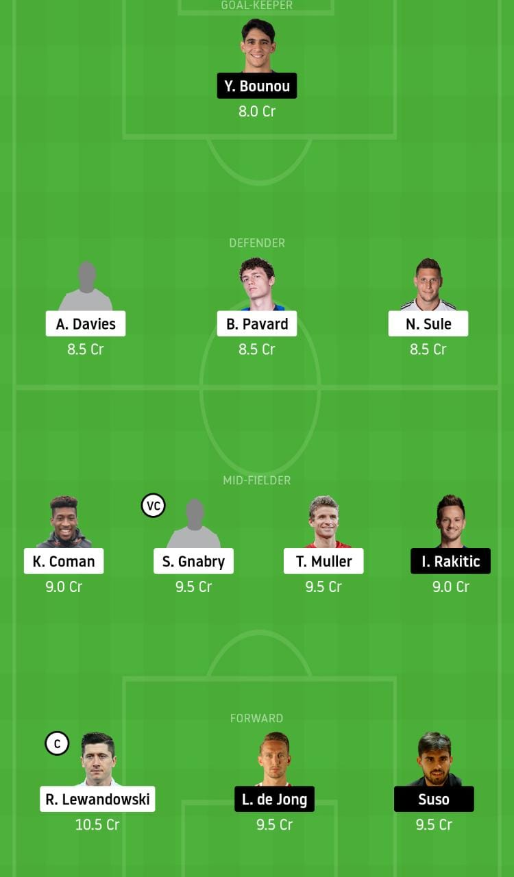 BAY vs SEV Dream11 Team - Experts Prime Team