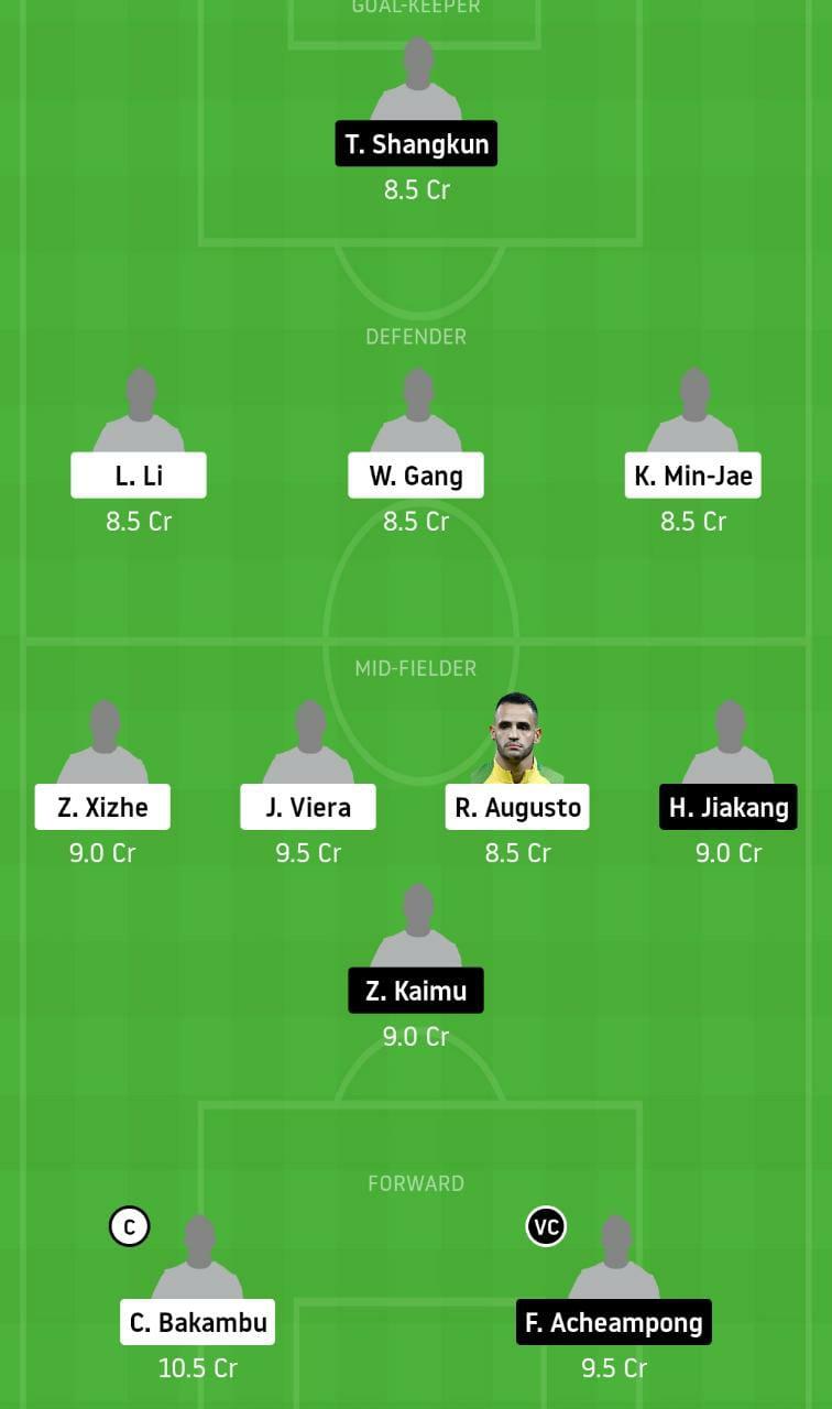BEI vs TNJ Dream11 Team - Experts Prime Team