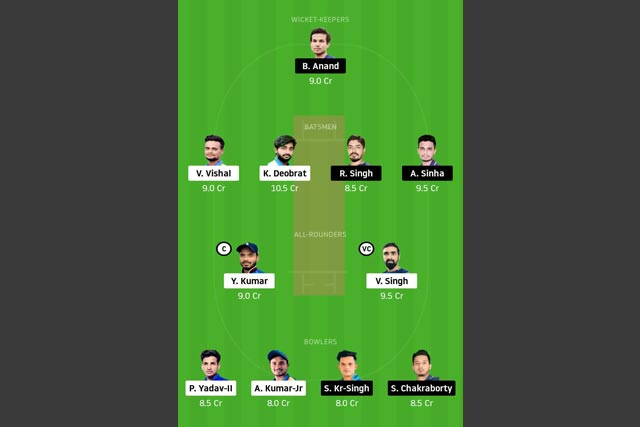 BOK vs DUM Dream11 Team - Experts Prime Team