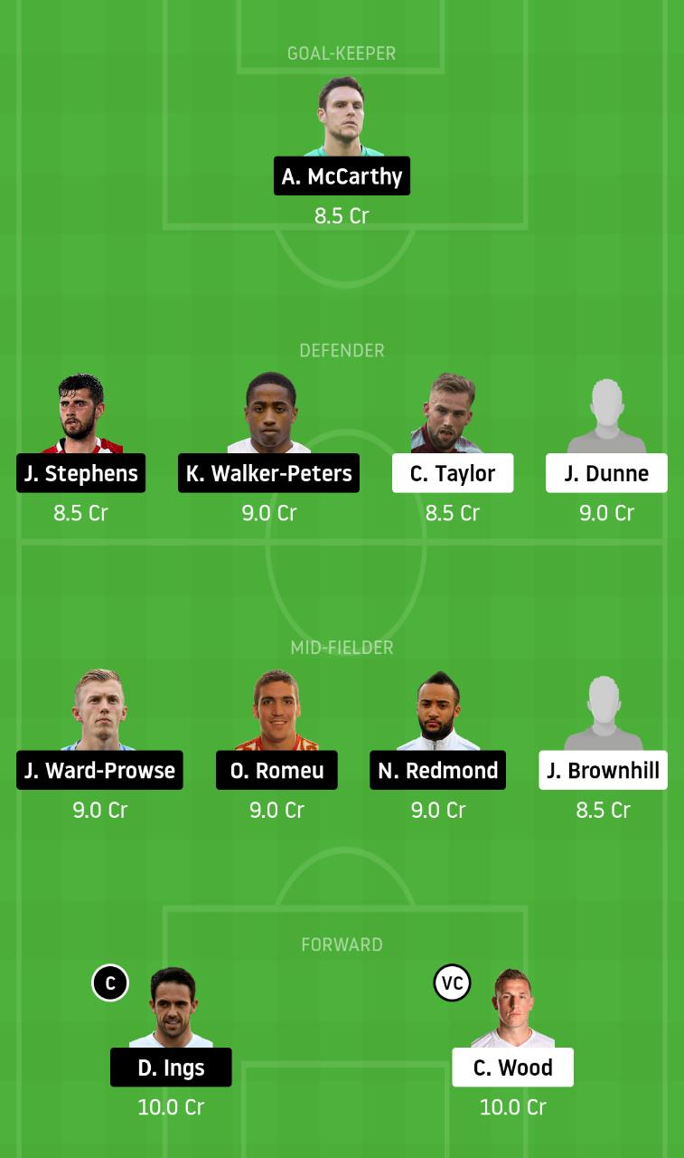 BUR vs SOU Dream11 Team - Experts Prime Team