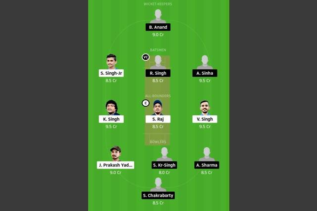 DHA vs DUM Dream11 Team - Experts Prime Team
