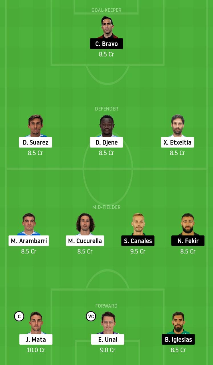 GEF vs RB Dream11 Team - Experts Prime Team