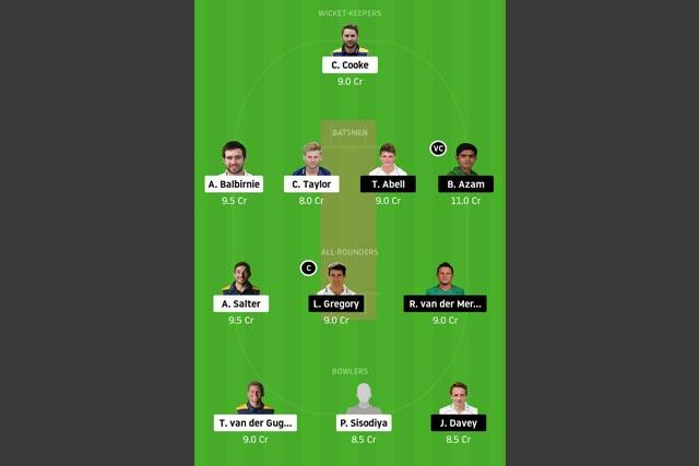 GLA vs SOM Dream11 Team - Experts Prime Team