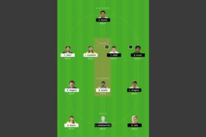 GLO vs SOM Dream11 Team - Experts Prime Team