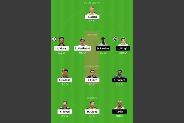 HAM vs SUS Dream11 Team - Experts Prime Team