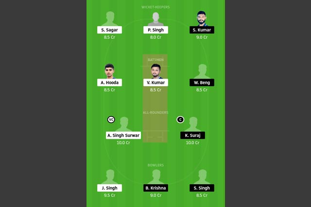 JAM vs SIN Dream11 Team - Experts Prime Team