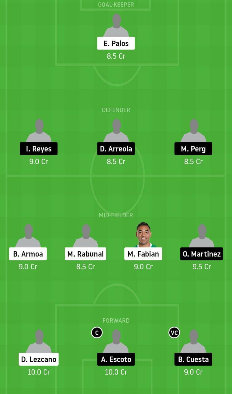 JUA vs PUE Dream11 Team - Experts Prime Team