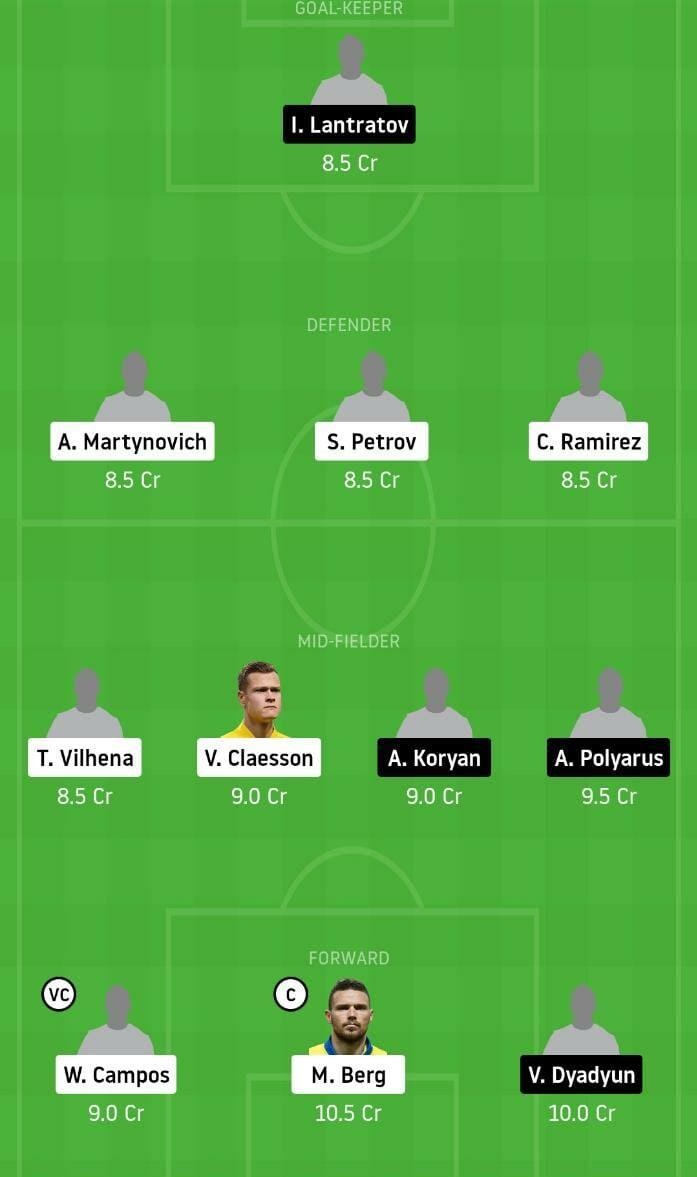 KRS vs KHMK Dream11 Team - Experts Prime Team