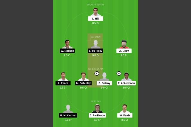 LEI vs DER Dream11 Team - Experts Prime Team