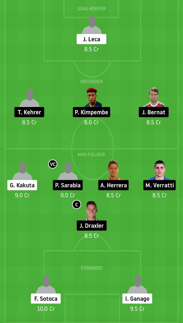 LEN vs PSG Dream11 Team - Experts Prime Team