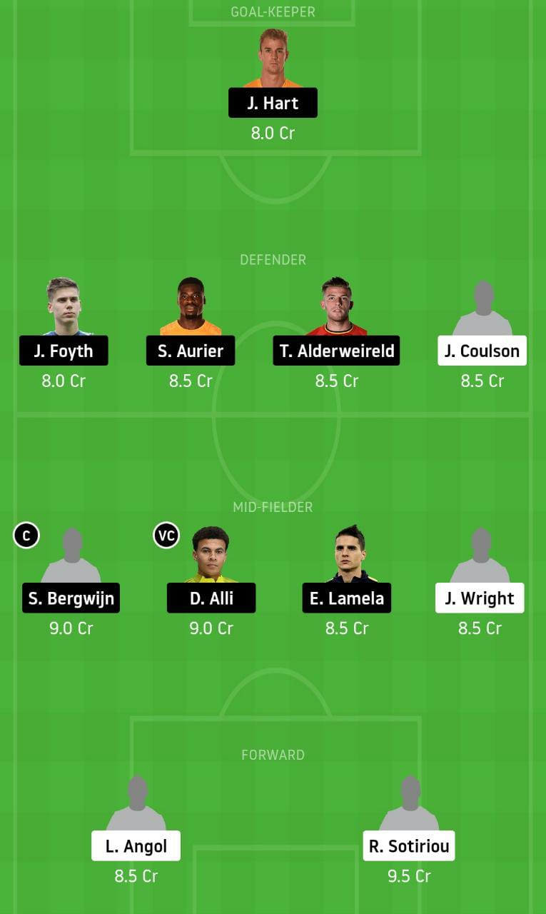 LEO vs TOT Dream11 Team - Experts Prime Team