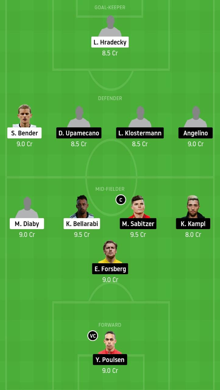 LEV vs LEP Dream11 Team - Experts Prime Team
