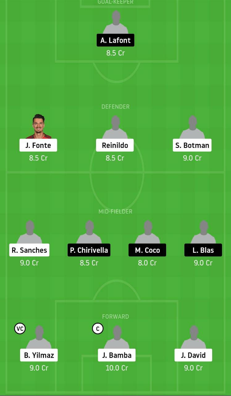 LIL vs NAN Dream11 Team - Experts Prime Team