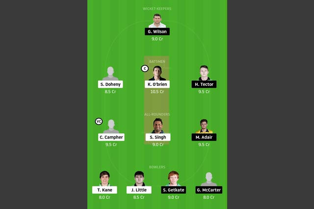 LLG vs NK Dream11 Team - Experts Prime Team