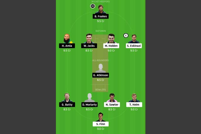 MID vs SUR Dream11 Team - Experts Prime Team