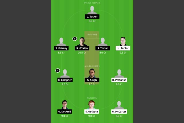 NK vs LLG Dream11 Team - Experts Prime Team