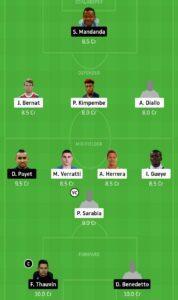 PSG vs MAR Dream11 Team - Experts Prime Team