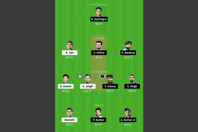 RAN vs BOK Dream11 Team - Experts Prime Team