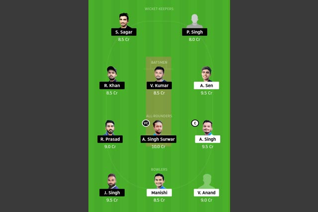 RAN vs JAM Dream11 Team - Experts Prime Team