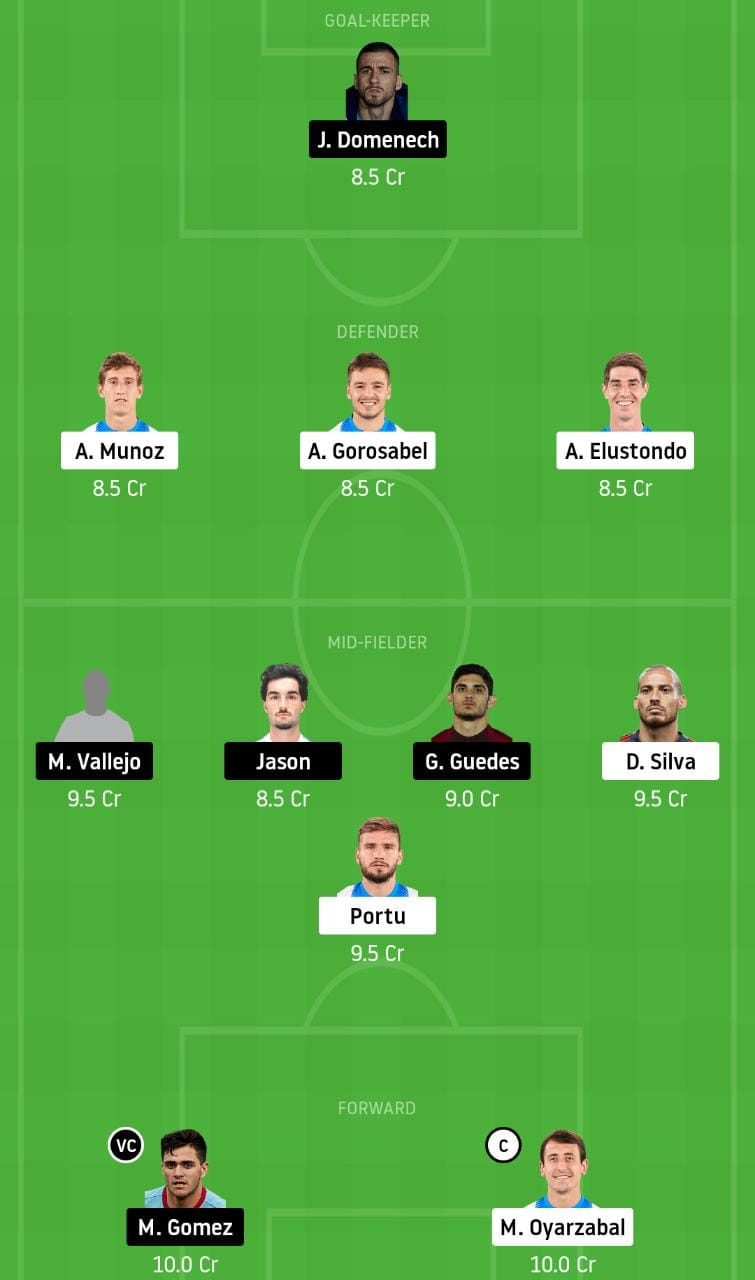 RS vs VAL Dream11 Team - Experts Prime Team