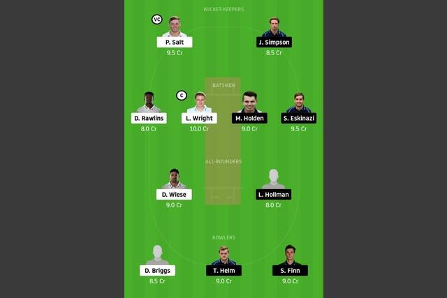 SUS vs MID Dream11 Team - Experts Prime Team