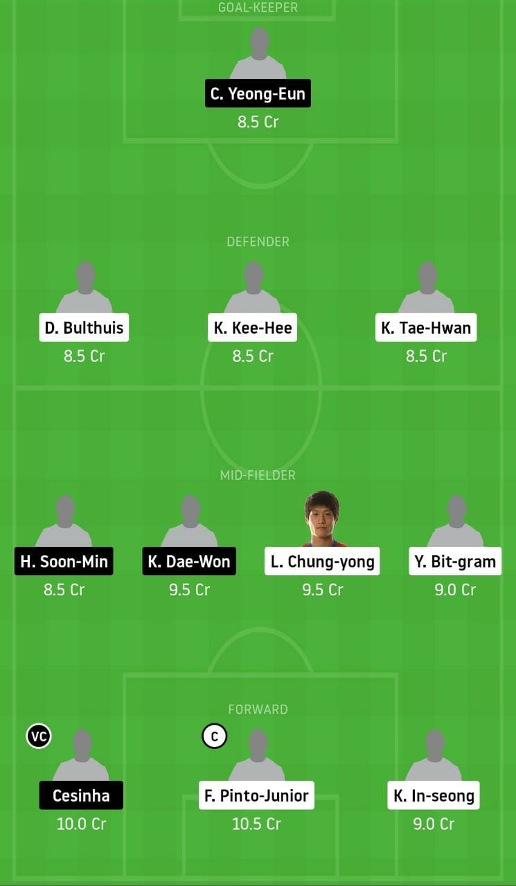 ULS vs DAE Dream11 Team - Experts Prime Team