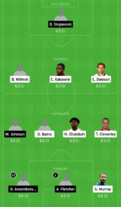 WAT vs MIDD Dream11 Team - Experts Prime Team