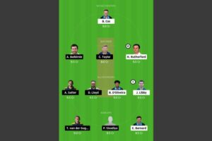 WOR vs GLA Dream11 Team - Experts Prime Team