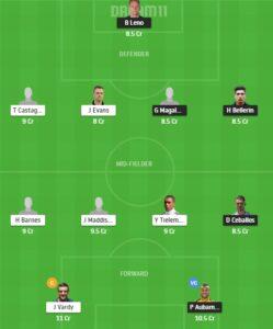 ARS vs LEI Dream11 Team - Experts Prime Team