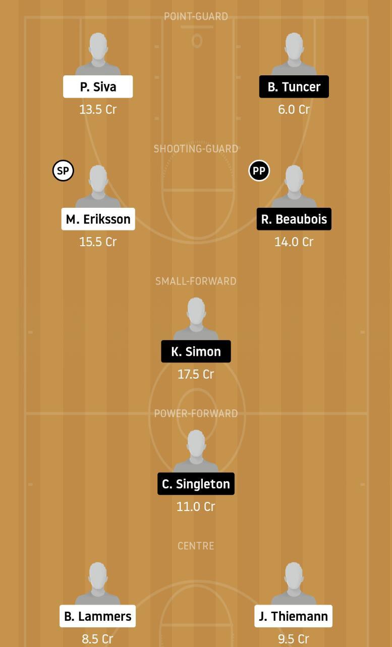 BER vs ANA Dream11 Team - Experts Prime Team