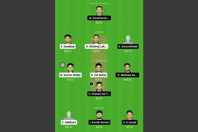 CHA-XI vs LEG-XI Dream11 Team - Experts Prime Team