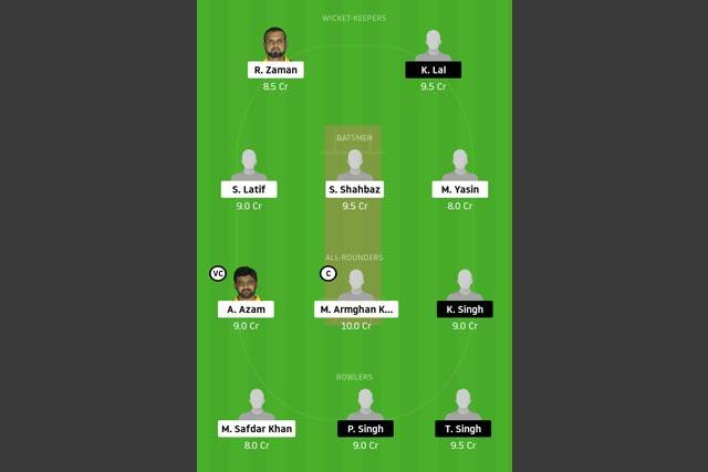 CTL vs GCC Dream11 Team - Experts Prime Team