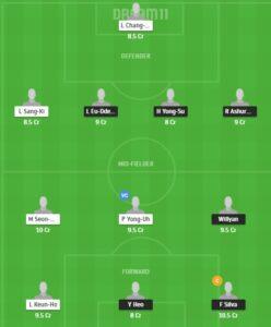 GWN vs SSMG Dream11 Team - Experts Prime Team
