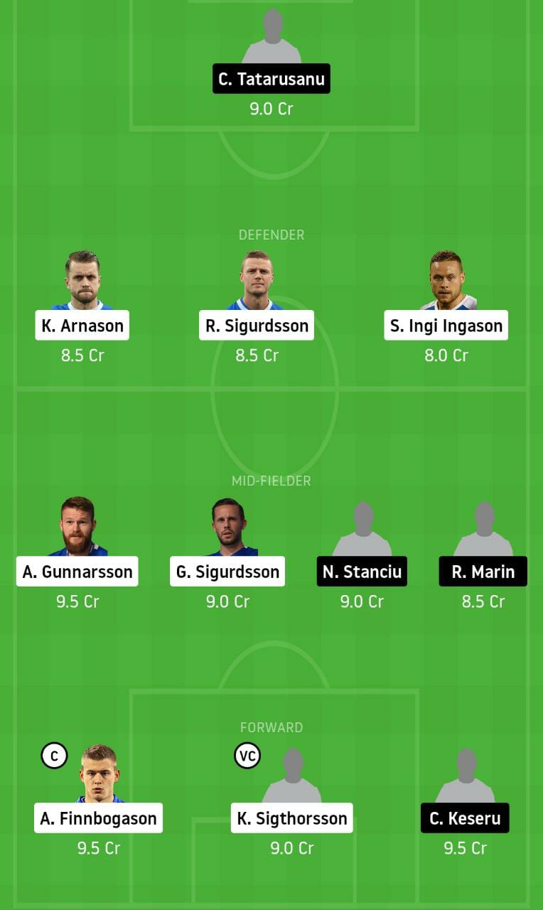 ICE vs ROM Dream11 Team - Experts Prime Team