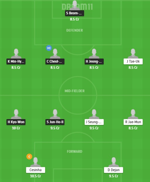 JNB vs DAE Dream11 Team - Experts Prime Team
