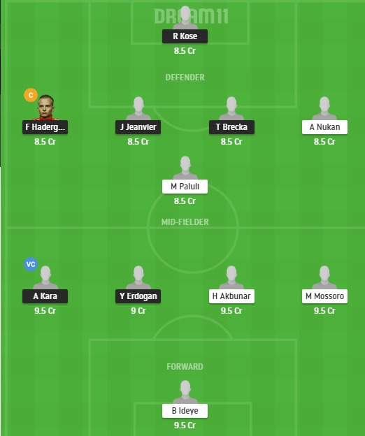 KAS vs GOZ Dream11 Team - Experts Prime Team