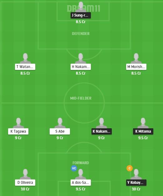 KAW vs TKY Dream11 Team - Experts Prime Team
