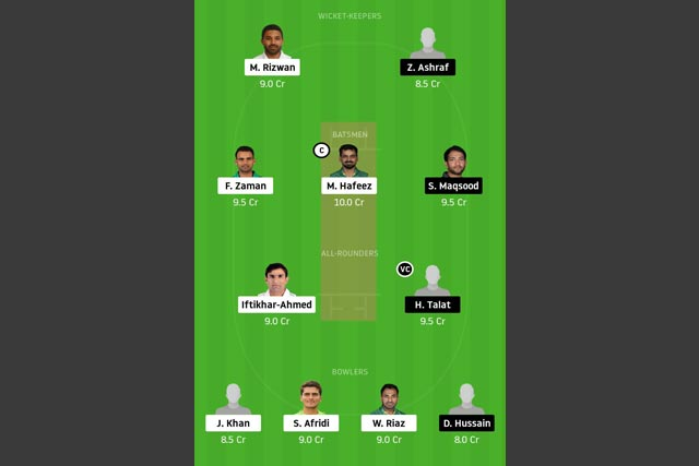 KHP vs SOP Dream11 Team - Experts Prime Team
