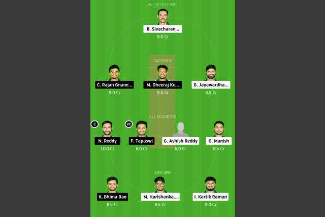 LEG-XI vs KIN-XI Dream11 Team - Experts Prime Team