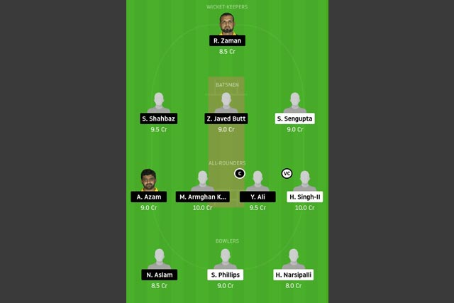 MBCC vs CTL Dream11 Team - Experts Prime Team