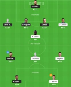 MUN vs CHE Dream11 Team - Experts Prime Team