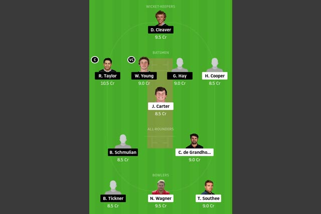 NK vs CD Dream11 Team - Experts Prime Team