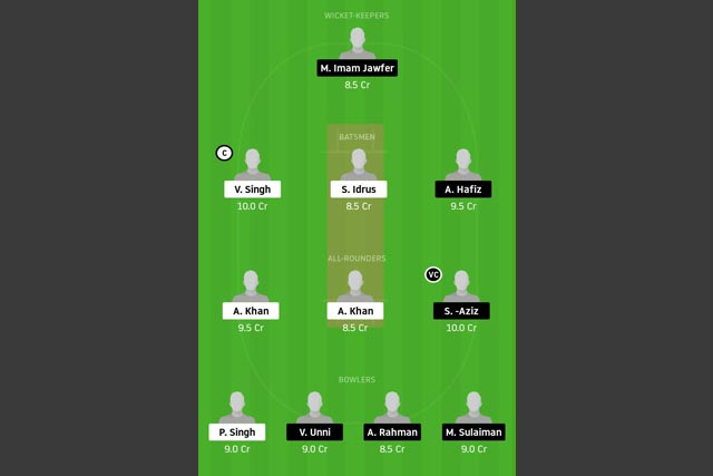 NS vs SH Dream11 Team - Experts Prime Team