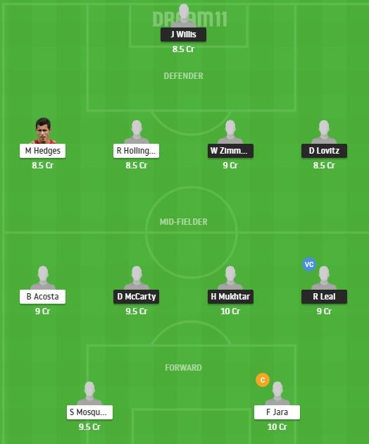 NSH vs DAL Dream11 Team - Experts Prime Team