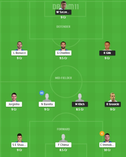POL vs ITA Dream11 Team - Experts Prime Team