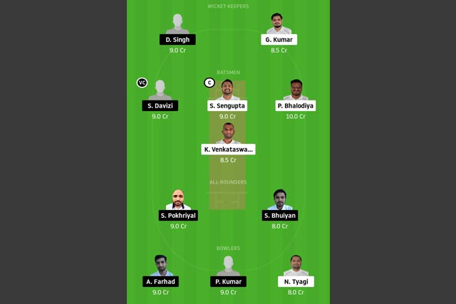 PRS vs PRB Dream11 Team - Experts Prime Team
