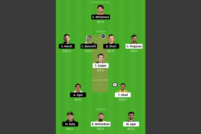 SAU vs WAU Dream11 Team - Experts Prime Team