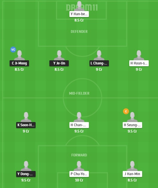 SEGN vs SE Dream11 Team - Experts Prime Team