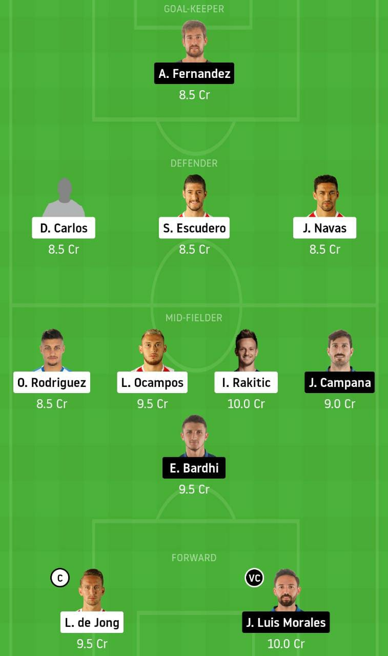 SEV vs LET Dream11 Team - Experts Prime Team