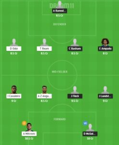SHF vs FUL Dream11 Team - Experts Prime Team